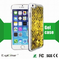 China hot-sale silicone mobile phone case for apple 6 plus case