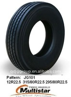 Truck tyre and rim 295/80R22.5 Driven wheel