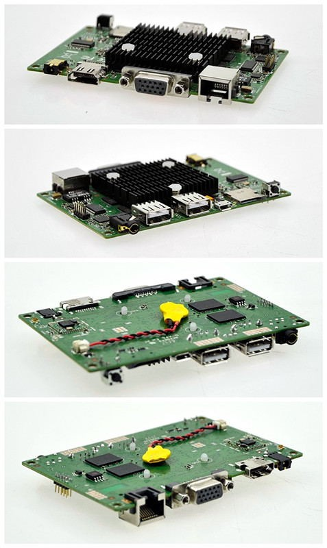 Z3735F mini motherboard 2M Cache, Quad core,up to 1.83 GHz AMI BIOS 5V 2A 2 GB Soldered, 32G emmc SSD embedded