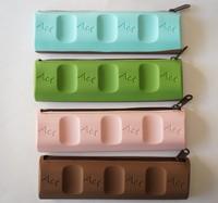 Silicone Pencil Bag School Office Silicon Pen Cases / Wholesale Chocolates pen bag