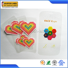 High quality customized logo phone back sticker