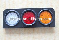 12/24 volt semi truck LED stop tail light/sign lighting