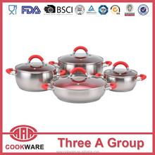German stainless steel cookware set LFGB certificate