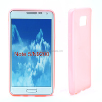 smart phone case for Samsung NOTE5 plastic material shockproof with accutare mould smart phone cover