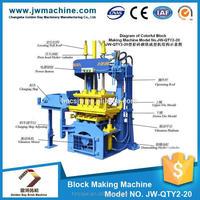 hot cheap Cement hydraulic interlocking manual concrete block maker