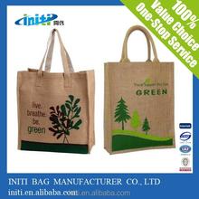 jute bag / italian matching shoes and bags hot sale on line shopping jute bag