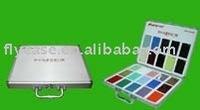 2015 new design style aluminium stone sample display box ,quartz stone sample carry case ,display case