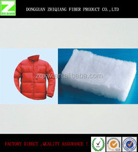 China New Design Washable polyester Clothing Filler