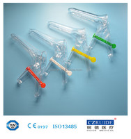 CE & ISO certificate polystyrene vaginal speculum dilator French type