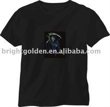 led sound activated t shirts