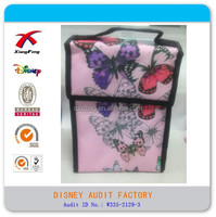 Stock Kids butterfly flower lunch cooler bag