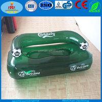 Beer Party Promotion Inflatable double sofa, Inflatable double Soccer chair