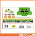 Arquivamento produtos de PVC A4 titular do documento de plástico