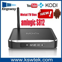 New arrival lastest XBMC m10 android tv box android 4.4 os external antenna android tv box