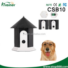 2014 Outdoor bark stop device dog garden fence without collar