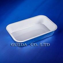 non-wrinkle resin coat aluminium foil container airline food