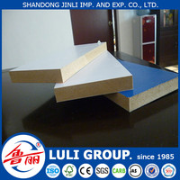 raw 3mm mdf /melamine faced mdf board from china factory direct
