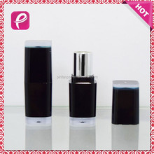 Black square lipstick tube container free makeup samples cosmetics