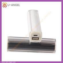 Pormotional gift 18650 battery 2600mah stylish digital power bank