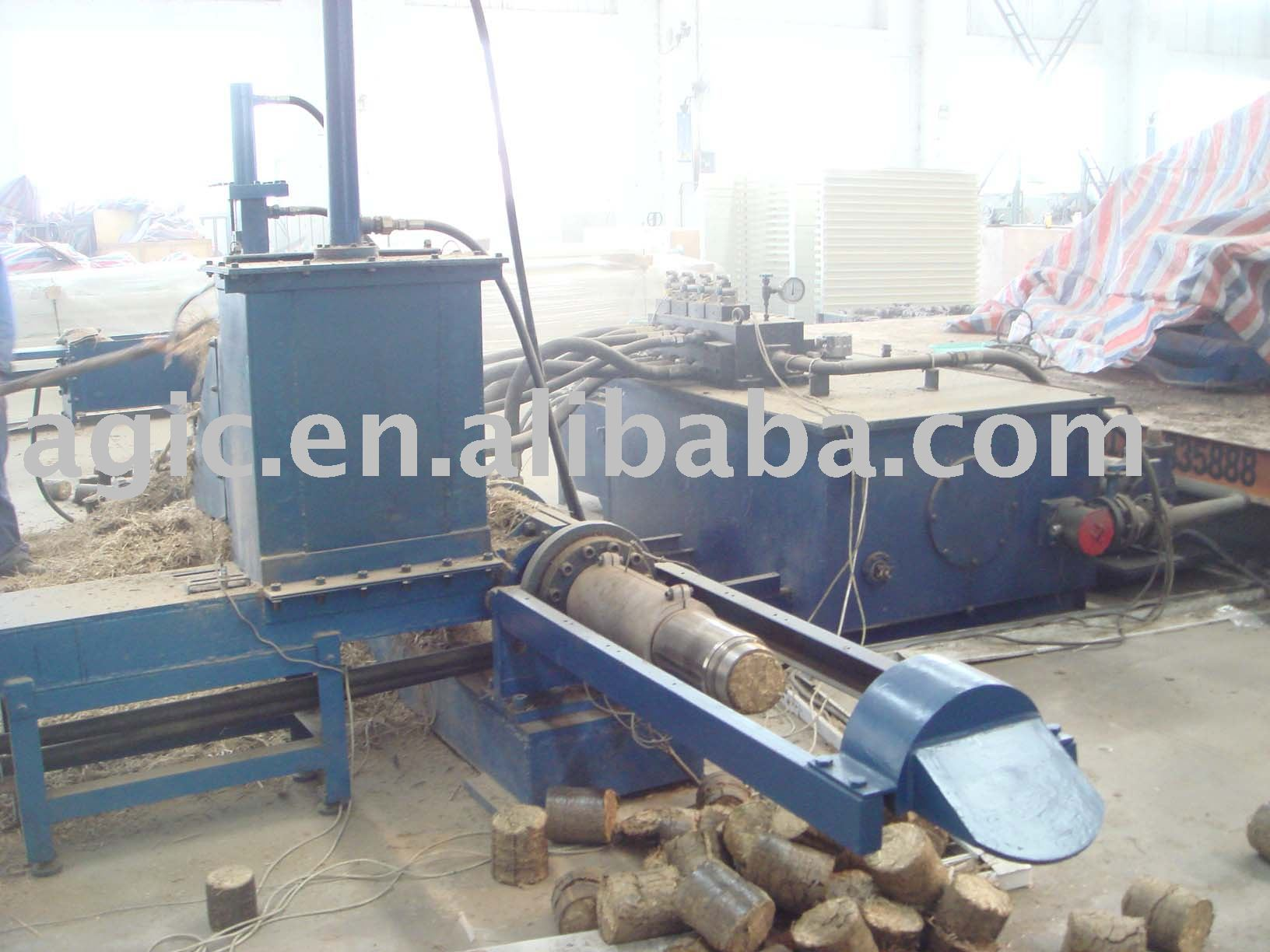 Hydraulic pressure biomass briquetting press buy