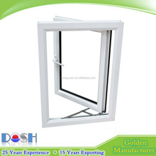 Chinese Factory Direct Sale UPVC Casement / Openable /Awning Side Hung Hinged Window for House Window Plan