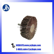 metal buffing and polishing disc with shaft