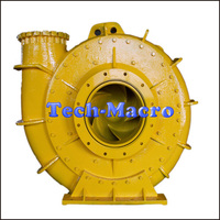 Centrifugal mud and sand dredge pump used in suction gold dredging dredger
