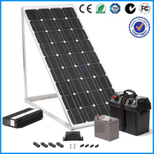 CE ROHS 10KW Solar Generator for Home With On Grid Inverter