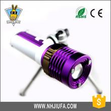 JF Best Portable Projector Flashlight,Rechargeable Led Fishing Light,High lumen zoom fishing flashlight