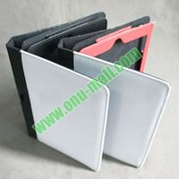 Wholesale Price Sublimation Leather Flip Cover for iPad