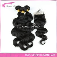 Alibaba best selling malaysian hair weft with closure, natural color malaysian hair wigs for black men
