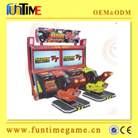 Arcade coin operated moto bike racing adults game machine / motorcycle 3d games