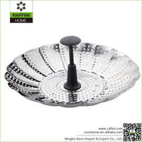 Cheap Wholesale Kitchen Gadget Stainless Steamer n Colander