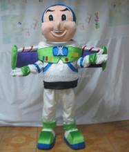 Venta directa de la fábrica buzz lightyear traje de la mascota