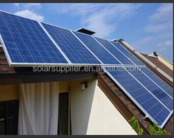 New! best supplier good quality 4kw on grid solar pv panels system