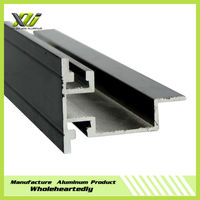 Light box polishing aluminum extruded alloy profile aluminum profile