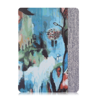 Leather case colorful for iPad Air case