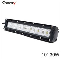 Factory supply waterproof combo beam ATV 4x4 30w 10inch bar led light