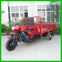 The New Headlight Double Seat Tricycle Three Wheel Cargo Motorcycles