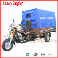 150cc cargo and passenger cabin tricycle