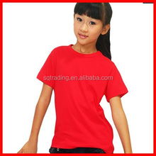 High quality cotton kids tshirt assorted colors