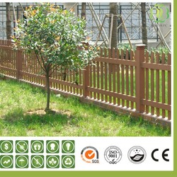 Garden Decorative Fencing/Wood Fence Panels Wholesale/Fencing Artificial Wood