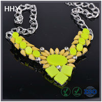 HHY resin necklace fashion jewelry 2014 XL-66