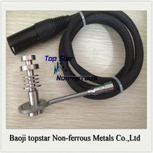 Titanium E-nail electric nail 14&18mm Male 13mm tall for heating coil