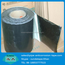 1.0mm thicknss pipeline joint wrapping tape with 50% overlap