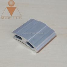 Aluminum extrusion frame profiles for solar border in grade 6000 series aluminum