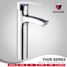 HIMARK deck mounted solid brass faucet for family use