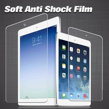 Axidi new product TPU material anti scratch ultra clear screen protector for ipad5