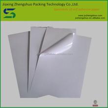 Top sale direct self adhesive vinyl sticker material