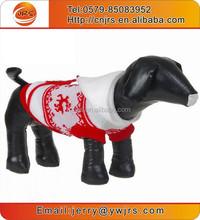 2015 fashion leash hole pet dog lighted christmas sweater with hood